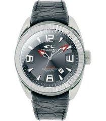 relógio de pulso chronotech active crystal auto - aço