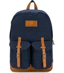mc2 saint barth blue canvas backpack