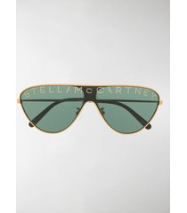 stella mccartney eyewear lens decal sunglasses