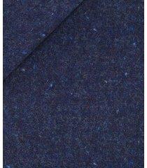 giacca da uomo su misura, bottoli, blu shetland, autunno inverno | lanieri