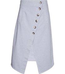 savannah knälång kjol blå baum und pferdgarten