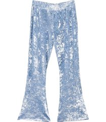 sonia rykiel enfant teen light blue flared trousers