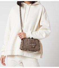 shrimps women's charles shoulder bag - leopard