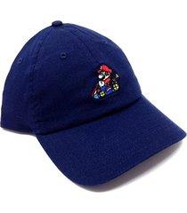 gorra super mario kart - azul marino
