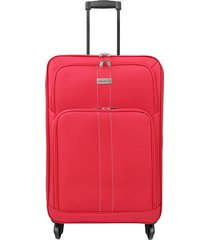 """maleta de viaje mediana omni 24"""" roja - explora"""
