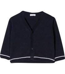 il gufo line-detailed cardigan