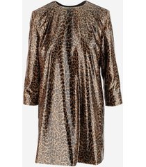 saint laurent designer dresses & jumpsuits, animal print women's dress