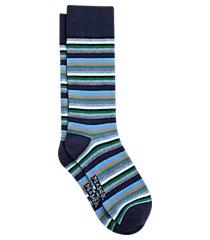 jos. a. bank stripe mid-calf socks, one-pair clearance