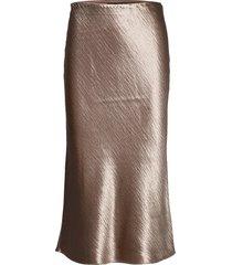 bias-cut midi slip skirt knälång kjol brun banana republic