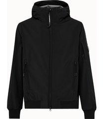 c.p company giacca in poliestere stretch con cappuccio