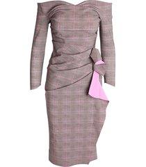 'beth print' polyamide dress