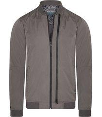 double zipped jacket