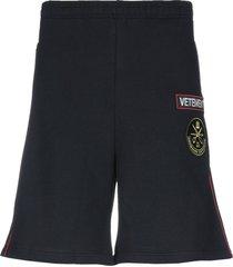 vetements shorts & bermuda shorts