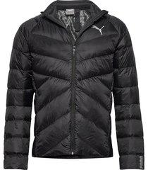 pwrwarm packlite 600 down jacket fodrad jacka svart puma