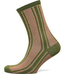 slfvida sock b lingerie socks regular socks brun selected femme
