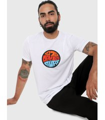 camiseta blanco-multicolor oakley graffiti 1975 short sleeve tee