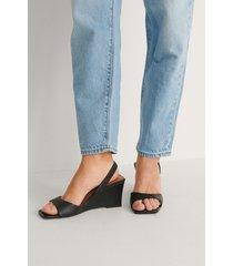 na-kd shoes slingback-pumps - black