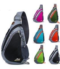 borse a tracolla per borsa a tracolla a tracolla a tracolla petto impermeabile leggera in nylon da donna