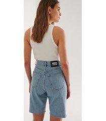 dr denim shorts - blue