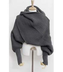sciarpa lavorata a maglia