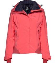 icerocket jkt w outerwear sport jackets roze salomon