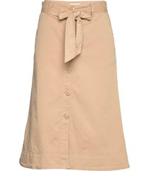 belina sk knälång kjol beige part two