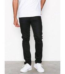 nudie jeans lean dean dry cold black jeans black
