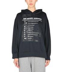 mm6 maison margiela sweatshirt with logo