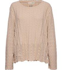 maureen sweater gebreide trui beige odd molly