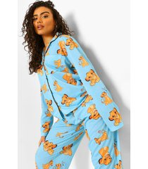 disney lion king pyjama shirt en broek, blue