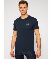 t-shirt korte mouw ea7 emporio armani t-shirt 8npt51-pjm9z bleu
