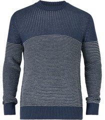 tröja onshelmig 7 blocked struc knit