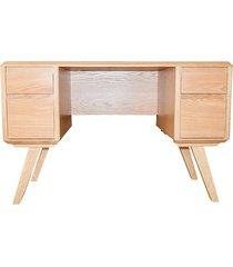 dębowe biurko