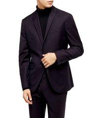 men's topman burg maverick sb1 slim fit sport coat