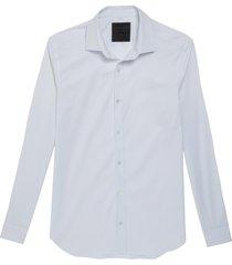 camisa john john slim white branco masculina (branco, gg)