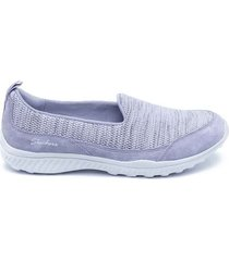 tenis morado skechers be-light-highhopes