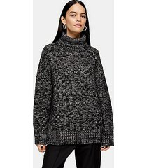 *funnel neck sweater by boutique - multi