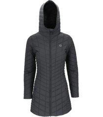 abrigo eiko negro doite
