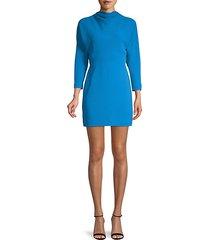 marin cowl-neck mini dress