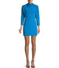 marin cowl-neck mini dress