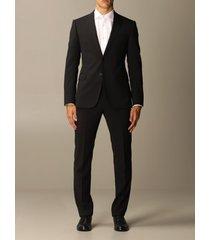 emporio armani suit emporio armani single-breasted suit in virgin wool 222 gr drop 7