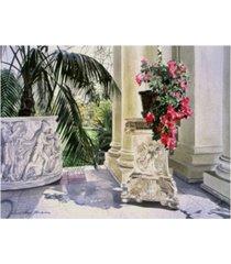 "david lloyd glover huntington red azaleas canvas art - 20"" x 25"""