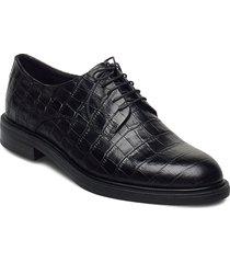 amina snörade skor låga svart vagabond