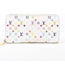 louis vuitton monogram multicolore zippy wallet white/multicolor/monogram sz: