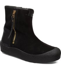 quebec gold zip shoes boots ankle boots ankle boots flat heel svart canada snow