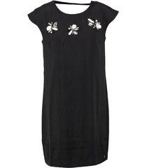 s. oliver zwarte jurk met sierstenen