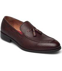 tassel loafer loafers låga skor brun tga by ahler