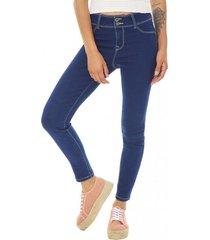 jeans high waist azul corona