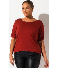 akira plus radio loud twist back top