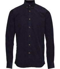 garth button down shirt overhemd casual blauw morris